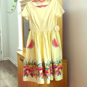 Lindy Bop Brittany Watermelons Dress 🍉